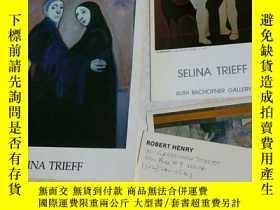 二手書博民逛書店SELINA罕見TRIEFF 畫展的畫冊Y24069 SELINA TRIEFF