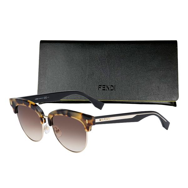 FENDI 太陽眼鏡(黑盒/紅盒兩款任選)【UR8D】