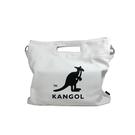 KANGOL 側背包 手提包 大容量 米白色 6025301001 noA78