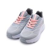 FILA 厚底休閒跑鞋 灰藍粉 5-J335V-315 女鞋