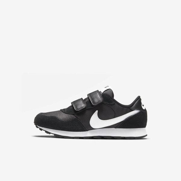 Nike Md Valiant (psv) [CN8559-002] 大童鞋 運動 休閒 魔鬼氈 保護 易穿脫 黑 白