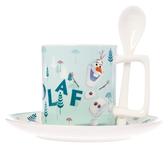 HOLA 迪士尼系列 Frozen 2 杯盤組 附攪拌匙 雪寶 冰雪奇緣 Olaf