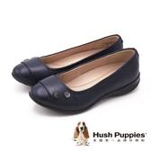 Hush Puppies Libi Bria 雙扣舒適上班低跟 女鞋-深藍(另有黑)