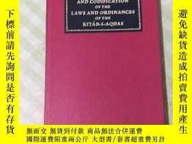 二手書博民逛書店SYNOPSIS罕見AND CODIFICATION OF THE LAWS AND ORDINANCES OF
