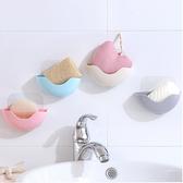 ✭米菈生活館✭【P324】瀝水無痕掛式收納盒 吸壁 吸盤 浴室 創意 吸盤 肥皂盒 塑料 肥皂架