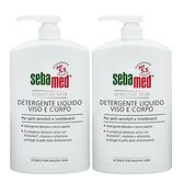 [超值兩入] Sebamed 潔膚露pH5.5 1000ml-有壓頭 Vivo薇朵