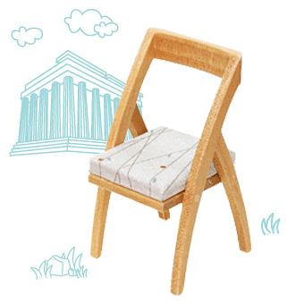 【 動手做袖珍模型系列 】DIY 袖珍典藏椅 sling