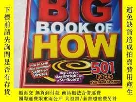 二手書博民逛書店TIME罕見For Kids Big Book of How [