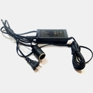 5000mA(5A) 60W 家用電 110V~240V 轉 車用電 點煙孔 12V 車用 3C 在家使用 在家充電
