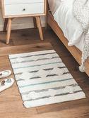 地墊簡約臥室床邊毯浴室吸水浴室墊北歐家用【不二雜貨】