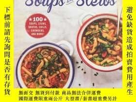 二手書博民逛書店Super罕見Easy Soups and Stews: 100