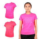 FIRESTAR 女吸排圓領短袖 (T恤 短T 慢跑 路跑 健身 訓練 免運 ≡排汗專家≡