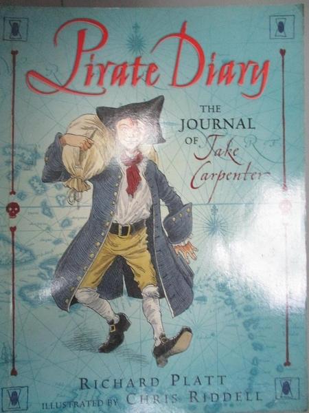 【書寶二手書T2/原文小說_GTE】Pirate Diary: The Journal of Jake Carpente