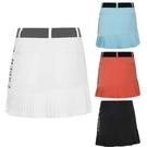 高爾夫裙 新款高爾夫球服裝 女士短裙子 夏季休閒防走光裙褲時尚速干百褶裙-Ballet朵朵