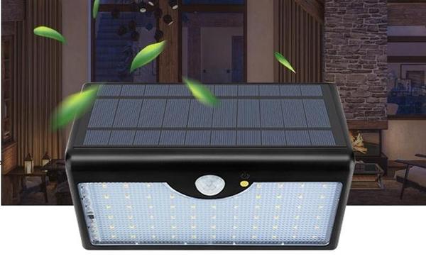 太陽能戶外庭院燈家用花園超亮防水新農村路燈人體感應照明壁燈 南風小鋪