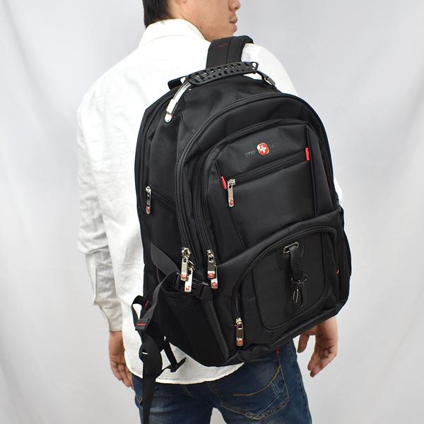後背包 型男必備多功能減壓 大容量多夾層設計/可放17吋筆電 NZB20