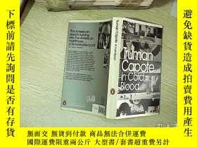 二手書博民逛書店in罕見cold blood 冷血Y203004 Truman Capote 著 Penguin Class