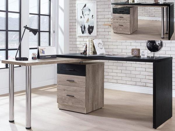 書桌 電腦桌 TV-508-2 狄恩4.8尺旋轉功能桌 (不含其它產品)【大眾家居舘】