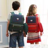後背包 兒童書包小學生女童男童男孩女孩1-3-4-5-6年級雙肩背包減負護脊 居優佳品DF