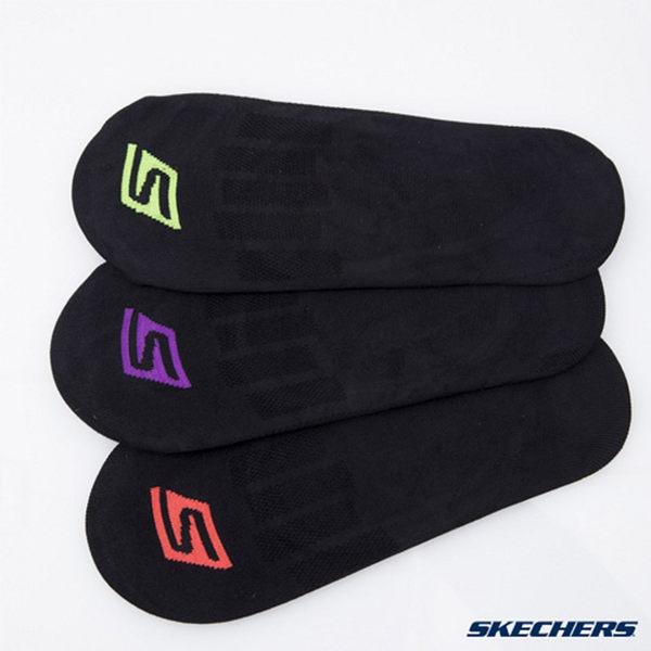 【SKECHERS女襪 促銷95折】SKECHERS(女) 超薄款休閒船型隱形襪 一組三雙 - S101584-018