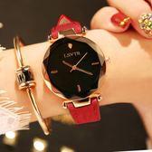 時尚手錶手錶女學生時尚潮流韓版簡約休閒大氣時裝水?皮帶防水石英錶