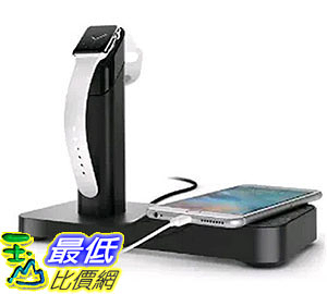 [美國直購] Griffin GC41633 充電器 充電座 WatchStand Powered Charging Station & Cord Management for Apple Watch & iPhone