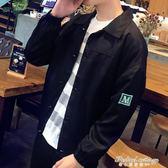 秋裝男外套秋季新款韓版潮流修身男士夾克情侶薄春秋季棒球服