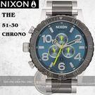 NIXON 實體店The 51-30 Chrono潛水腕錶A083-2304公司貨/極限運動/禮物/衝浪