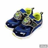 K-SHOES 童鞋 辛比怪怪屋電燈鞋藍-X10756