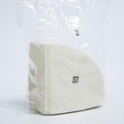 營業用無漂白手沖錐形咖啡濾紙02 100入(3-5人)-適用KONO V60 02