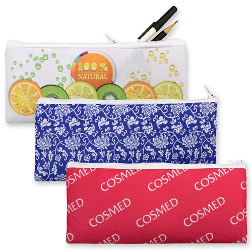 【客製化】毛氈布鉛筆袋(全彩昇華熱轉印)100個 宣導品 禮贈品 HFPWP A90-51100-066