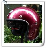 林森●GP-5安全帽,3/4帽,復古帽,338,隱藏式墨片,素色/糖果紫