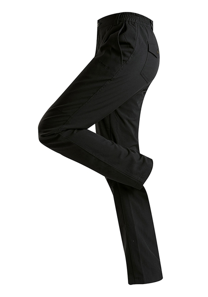 瑞多仕RATOPS 女款雙層防風刷毛長褲 DA3637 黑色 保暖長褲 防風長褲 雙層保暖褲 雪褲 OUTDOOR NICE