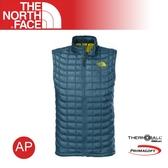 【The North Face 男 TB保暖背心《蒙特瑞藍》】C763/羽絨背心/輕量/防風背心