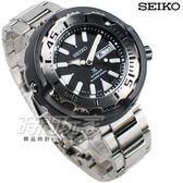SEIKO 精工 DIVER SCUBA 機械錶 不銹鋼 黑色 陶瓷外殼保護圈 潛水錶 男錶 SRPA79J1 4R36-05R0D