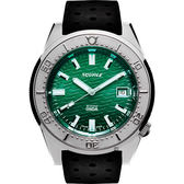 SQUALE 鯊魚錶 1521海洋系列機械錶-綠x黑/42mm 1521EMER.NT