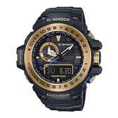 CASIO 卡西歐 太陽能 電波 防水 GWN-1000GB-1A(GWN-1000GB-1ADR)G-SHOCK 雙顯