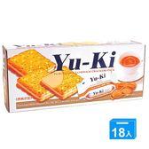 YUKI花生夾心酥150g*18【愛買】