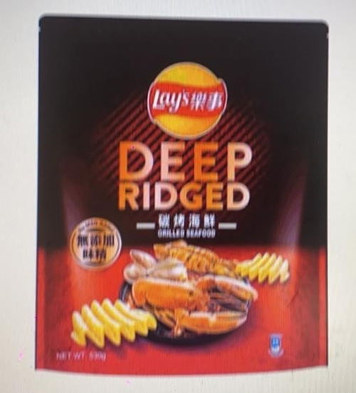[COSCO代購] W126926 Lay's 樂事大波浪碳烤海鮮味洋芋片 530公克 兩入