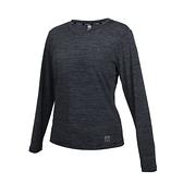 FIRESTAR 女彈性圓領長袖T恤(慢跑 路跑 運動 上衣 涼感 反光≡體院≡ DL007-18