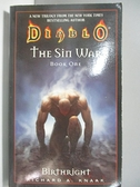 【書寶二手書T2/原文小說_ALA】The Sin War: Birthright_Knaak, Richard A.
