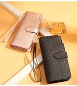 長款錢包金狐貍錢包女長款2019新款時尚韓版牛皮多功能錢夾手機拉鏈手拿包雙12狂歡