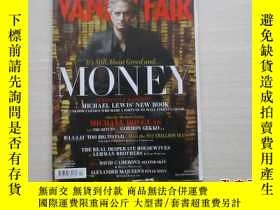 二手書博民逛書店VANITY罕見FAIR APRIL 2010 外文雜誌 見圖【