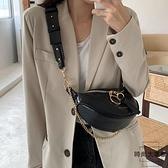 小包包百搭時尚腰包女胸包側背斜背包【時尚大衣櫥】