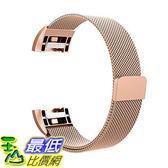 [106美國直購] Swees SWS-FITBITCHG2SLRG 玫瑰金(大小尺寸可選) Fitbit Charge 2 Bands 手環 錶帶