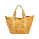 Kangol 托特包 Tote Bag 黃 白 男女款 袋鼠 側背包 兩用 【ACS】 6955300560