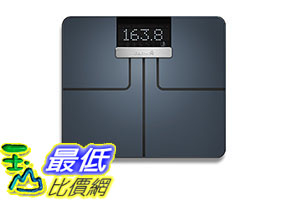 Garmin Index S2, Smart Scale with Wireless Connectivity,, Black (010-02294-02) [2美國直購]