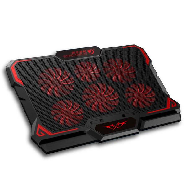 筆電散熱 筆電風扇 筆電散熱器 六風扇 靜音散熱 筆電散熱座散熱架 遊戲風扇