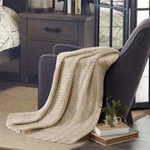 水星家紡毛毯加厚保暖雙人蓋毯沙發毯薄毯子單人
