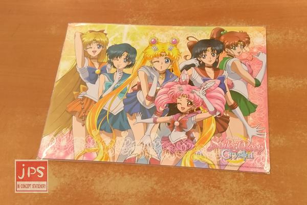 Sailormoon 美少女戰士 雙面墊板 擺POSE